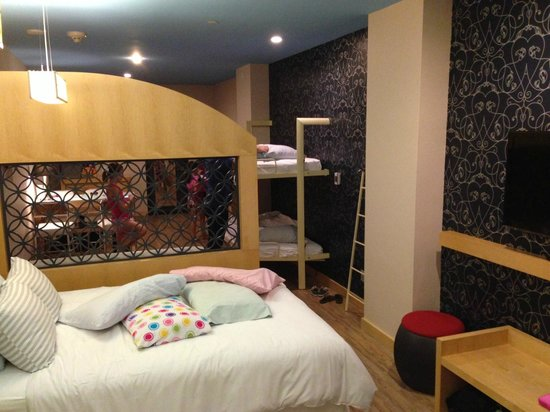 TRYP by Wyndham Times Square South: very spacious even with bunk beds pulled down for sleeping