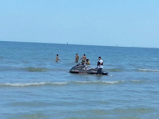 Sandpiper Gulf Resort: Jet skii rental right on premisea