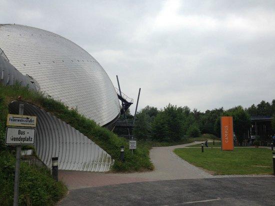 Atlantic Hotel Universum: Дорога в парк