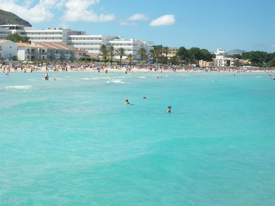 Hotel Roc Continental Park: Alcudia Beach 5min walk from hotel
