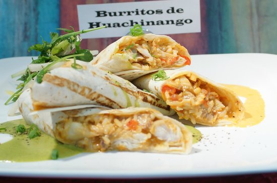 Zacatecas Mexican Grill & Tequila Lounge: Burritos de Huachinango (Red Snapper Burritos)