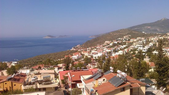 Kelebek Hotel: Another view from the rooftop terrace.