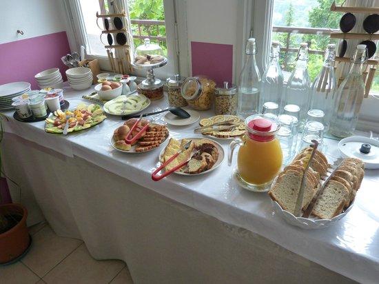 A Casa Mia: les petits déjeuners