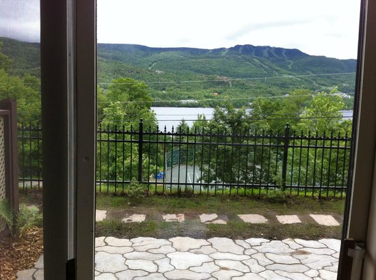 Hotel du Lac: View from room