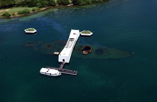 USS Arizona Memorial: USS Arizona