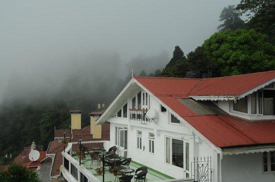Little Tibet Resort: view of the terrace room