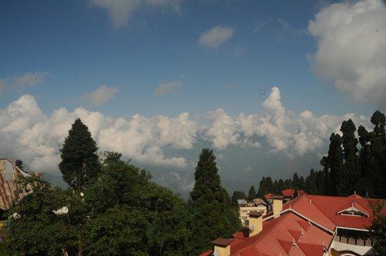 Little Tibet Resort: view from room