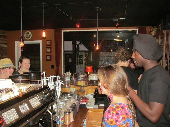 Mount Dora Coffee House : David and Olivia are right there helping, welcoming, and making everyone feel like friends