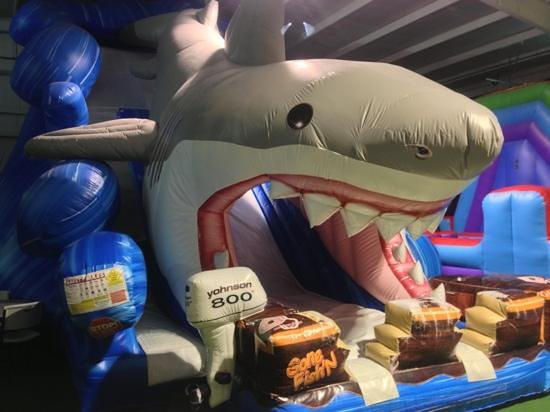 Kingsport, TN: Shark Inflatable