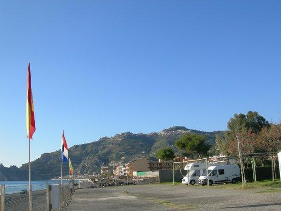Camping La Focetta Sicula: panorama