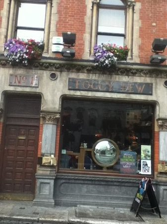Foggy Dew : lively pub just a few steps from temple bar