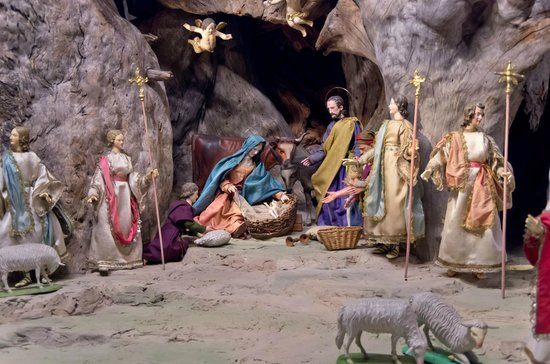 Oberammergau Museum : 「キリストの誕生」のシーン