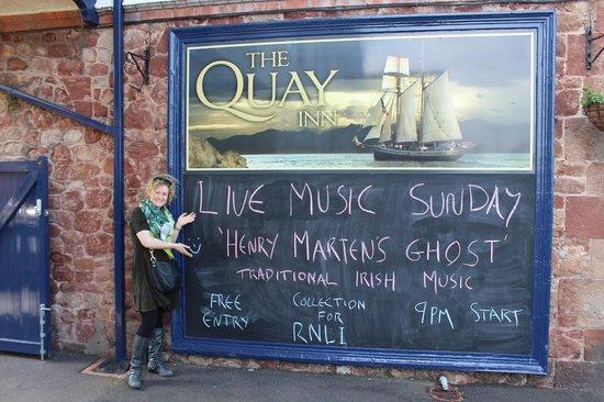 The Quay Inn: Bands!