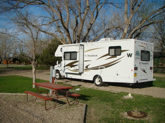 Badlands/ White River KOA: Our campground - May 14, 2013