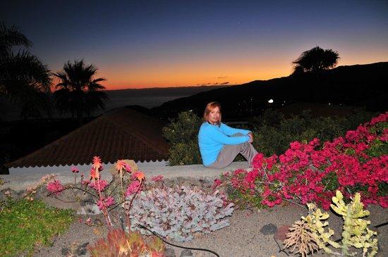 La Villa: la terraza