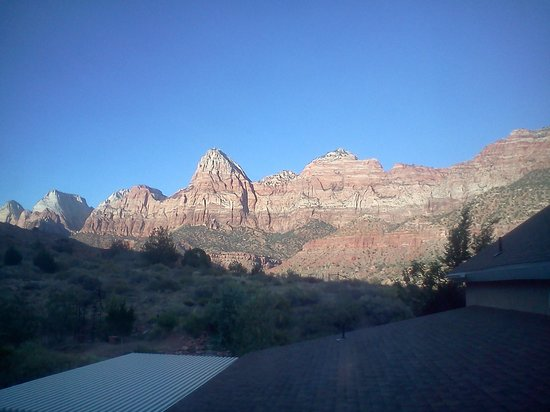 Novel House Inn at Zion: View from the room