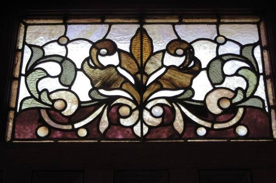 Patterson Inn: lots of original architectural detail