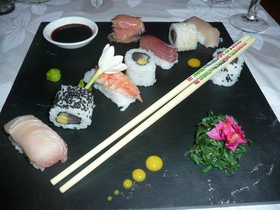 Vahine Island Resort: Sushi