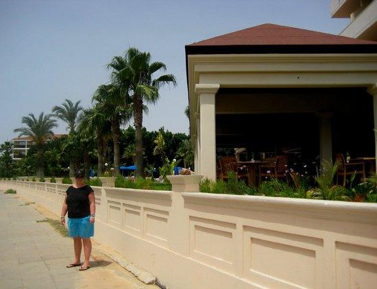 Nissiana Hotel & Bungalows: На фоне ресторана