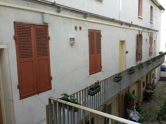 Hotel Montchapet : vue du palier