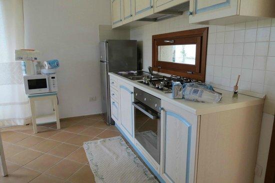 Resort Le Saline Palau : cucina