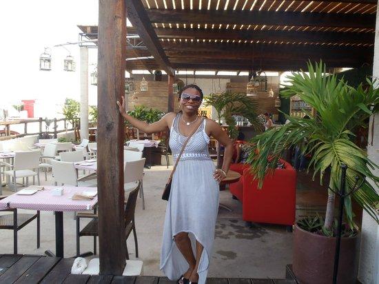Hotel El Punto: Bar upstairs