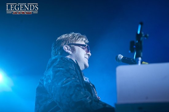 Legends Blackpool: Elton