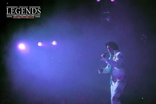 Legends Blackpool: Elvis