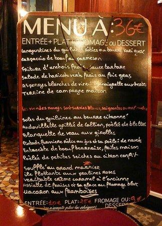 Restaurant Le  Paul Bert Paris