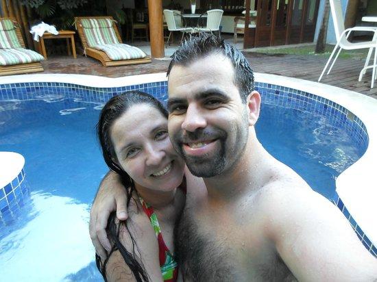 Pousada Rosa dos Ventos: piscina com hidromassagem