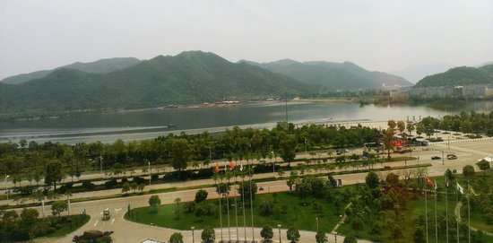 Overseas Chinese Hotel : View from top floor room