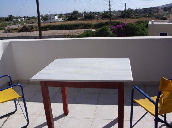 Nefeli Villa: Our spacious balcony