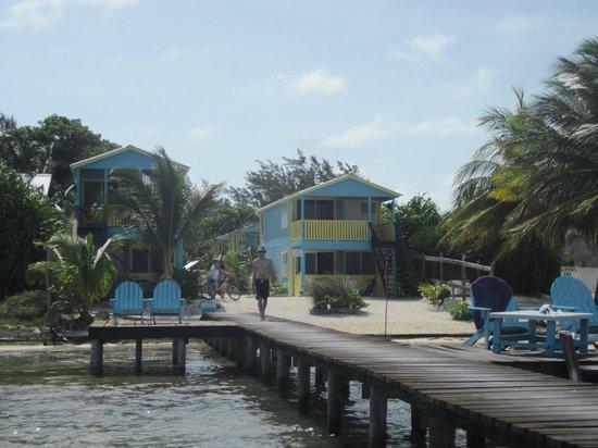 Colinda Cabanas: on the pier