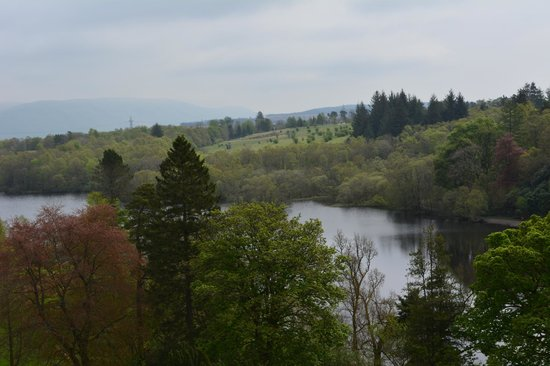 Mugdock Country Park: a view of Mugdock Loch