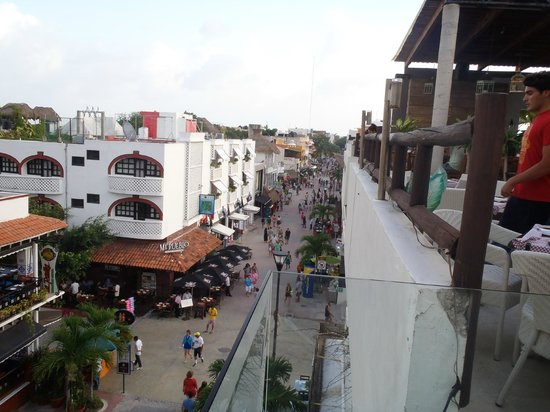 Hotel El Punto: View from the bar