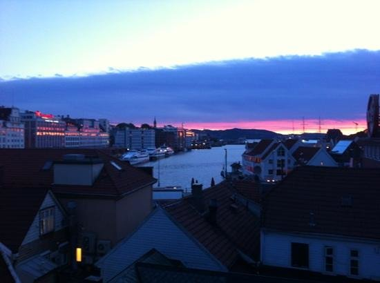 Bergen YMCA Hostel: view from hostel