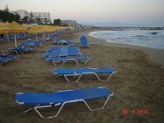 Mitsis Rinela Beach Resort & Spa: spiaggia