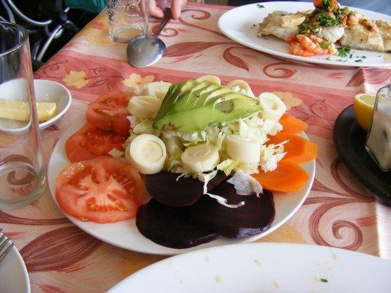 Los Pomairinos: My salad