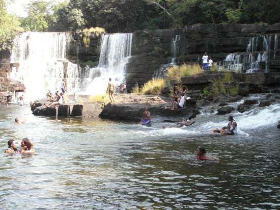 Guinea: khorira natural swimming pool