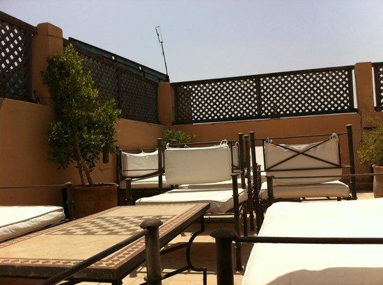 Riad Elixir: La terrasse