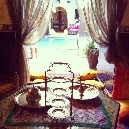 Dar Abiad : Piscine