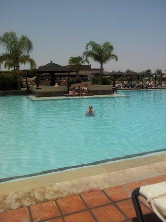 ClubHotel Riu Tikida Palmeraie: in the pool
