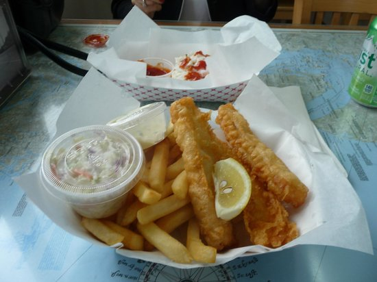 Bell Buoy of Seaside: cod and chips