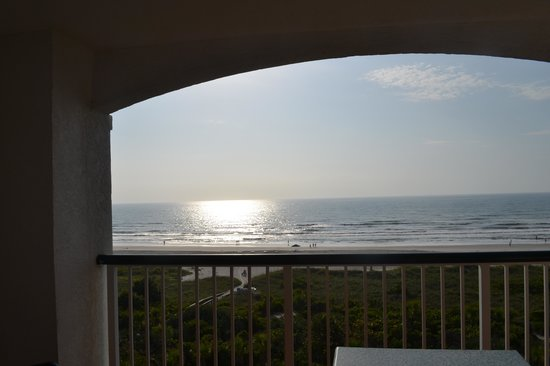 The Resort on Cocoa Beach: Ocean front room view
