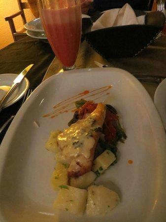 La Mision : Surubi with potatoes (half a portion)
