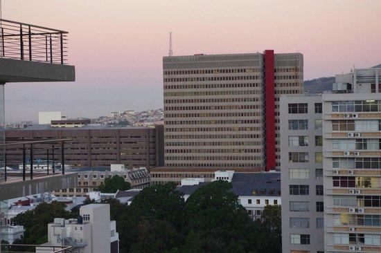 Pepperclub Hotel & Spa : вид из окна