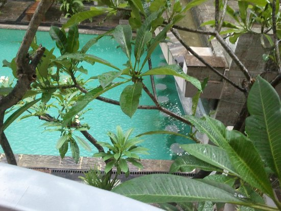 Champlung Mas Hotel : pool from our room
