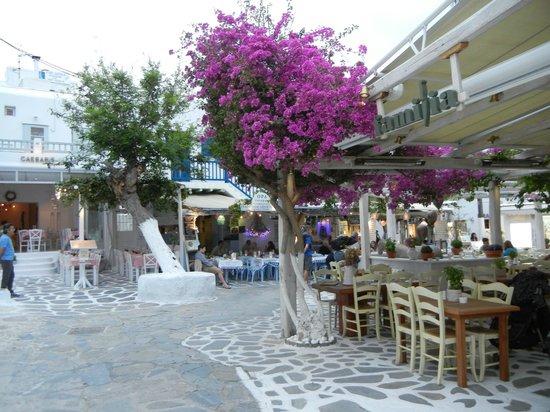 Cidade de Míconos, Grécia: Preciosos lugares
