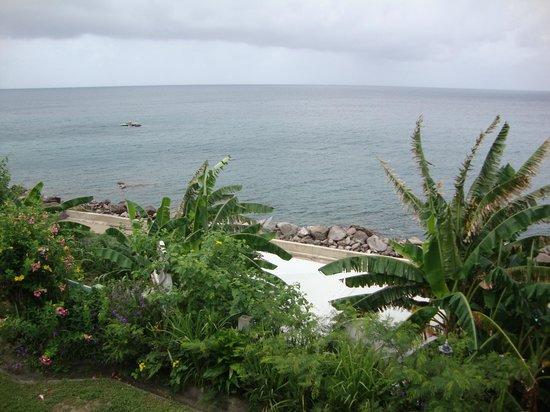 Bird Rock Beach Hotel : View from the blacony