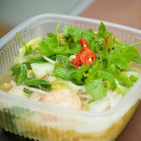 Chi Pan Asian Takeaway Galway: seafood curry laksa noodles